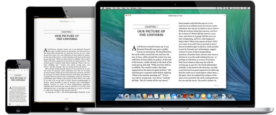 iBooks screenshots