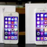 Cравнение iPhone 5 и iPhone 6