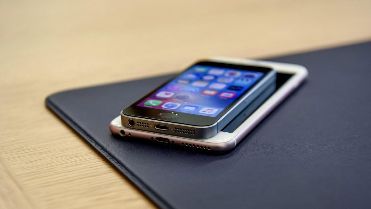 iPhone 6 и iPhone SE наличие 3D Touch