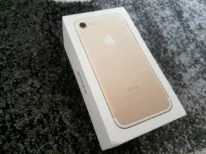 iPhone 7 Gold BOX