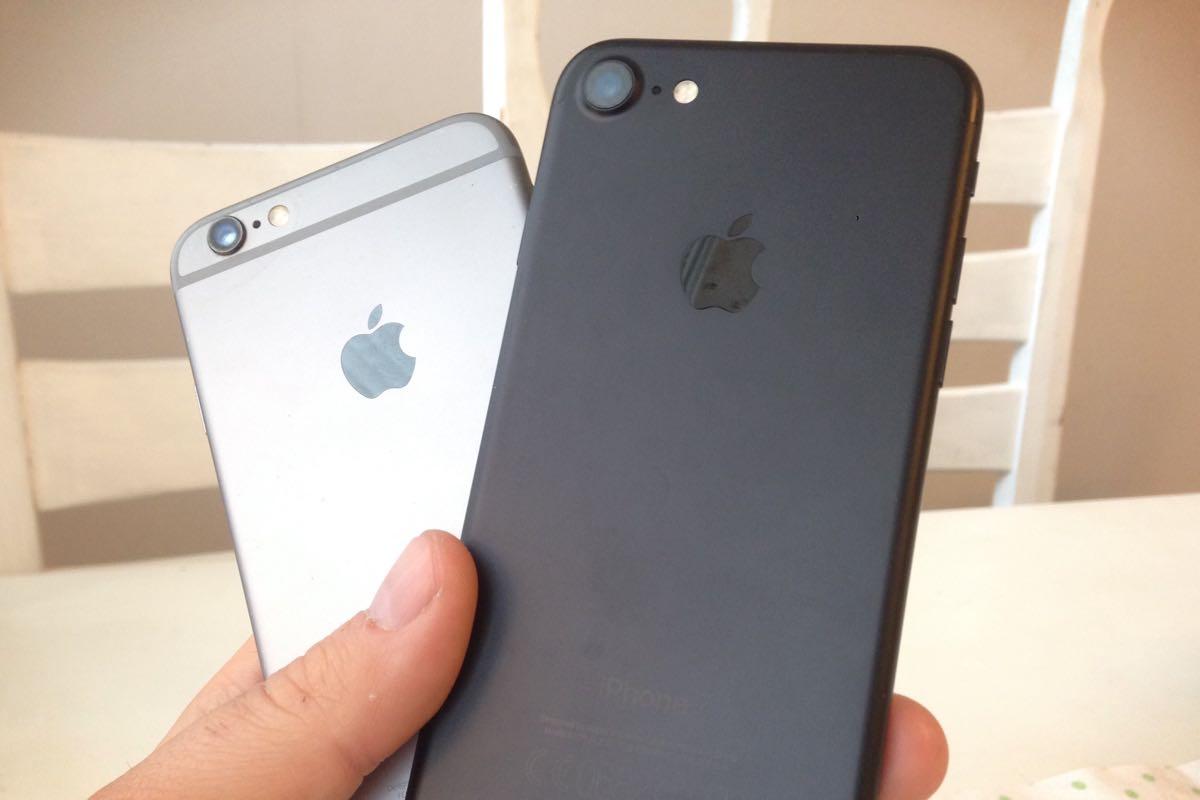 iphone 6 и iphone 7 отличия внешний вид