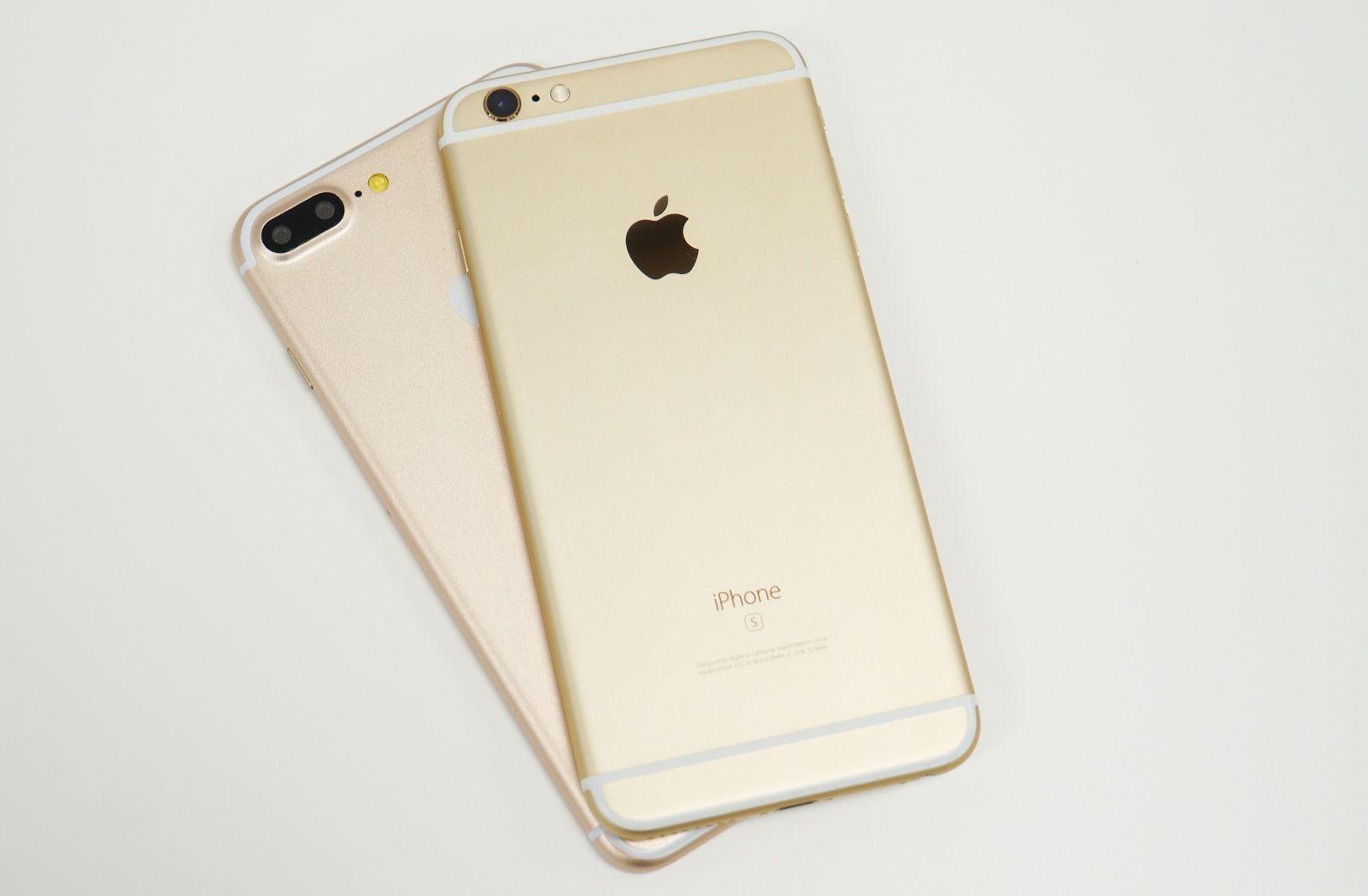 iphone 6s plus или iphone 7 plus