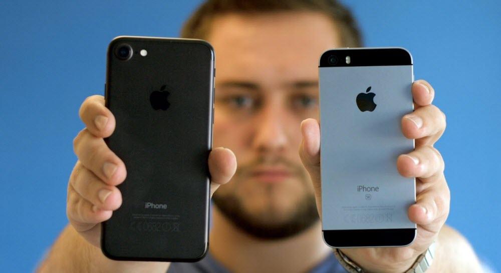 Какой айфон лучше купить SE или 7