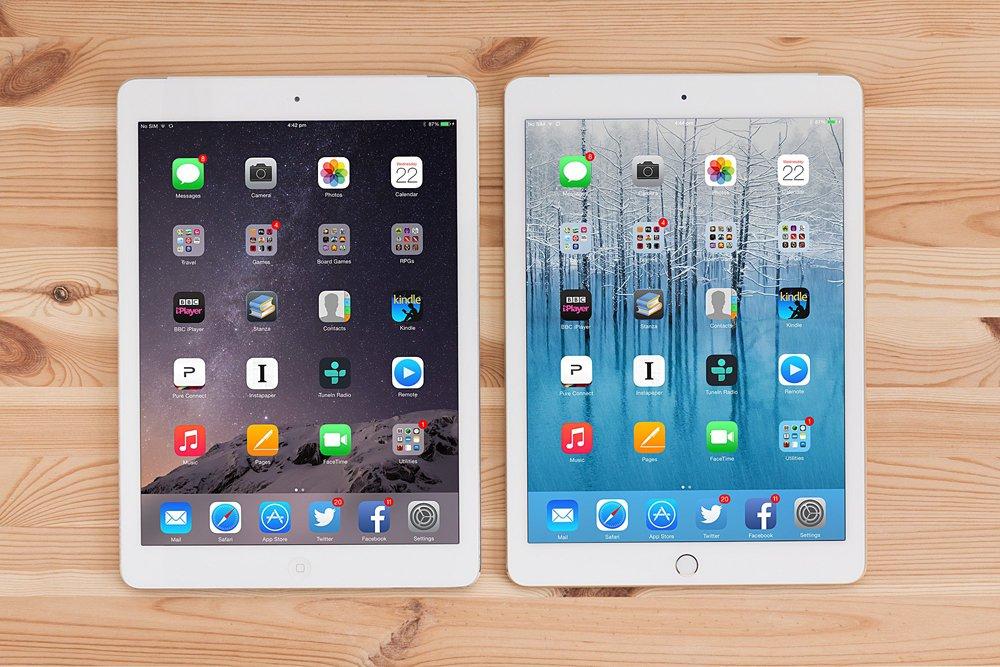 Apple iPad Air 2 vs Apple iPad Air - porwnanie cech - Komrkomania