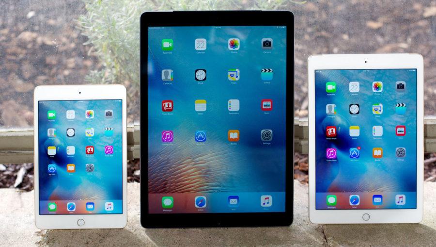 Размер экрана iPad