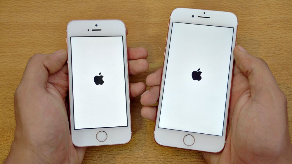 Сравнение произвордительности iPhone 7 и iPhone SE
