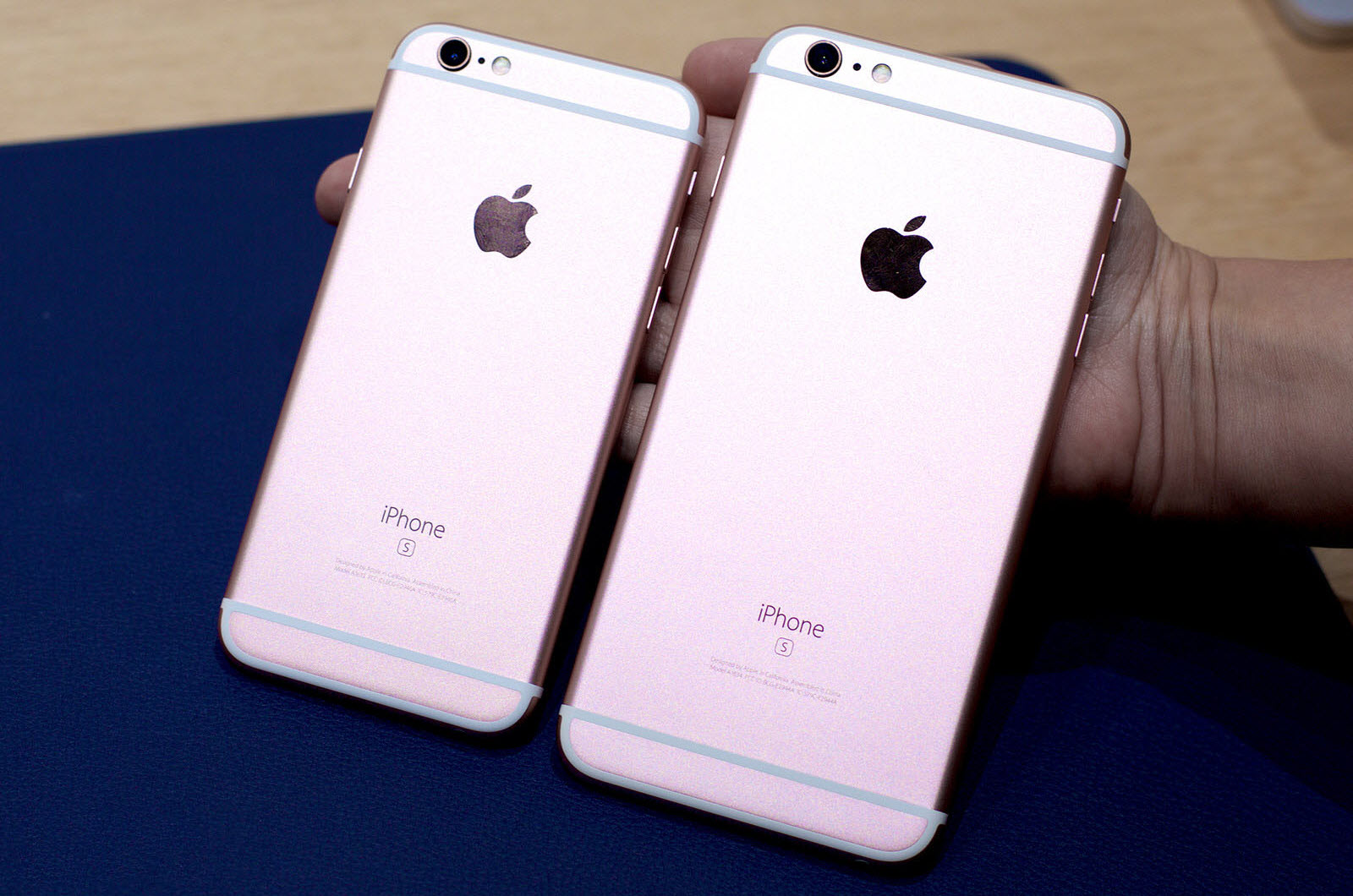 внешний вид iPhone 6S