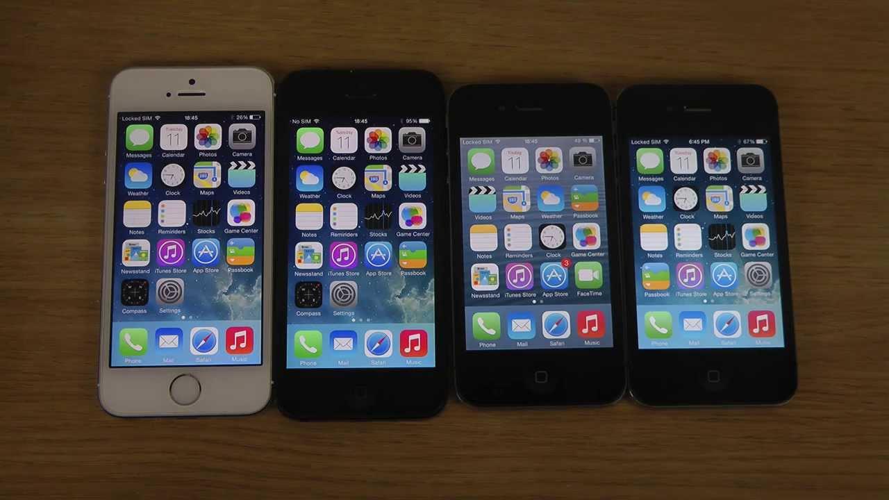 какой айфон лучше 4s или 5s