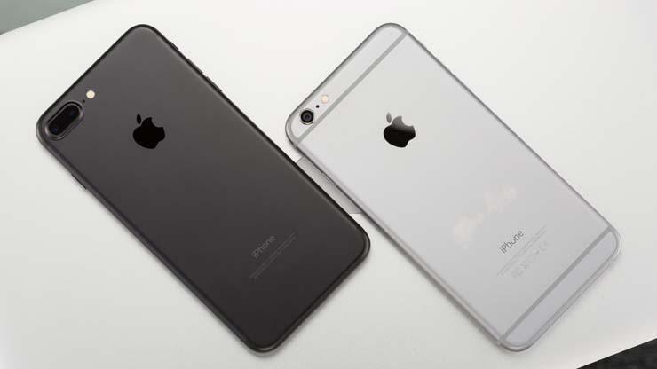 отличия между айфонами 6 ПЛЮС и 7 ПЛЮС
