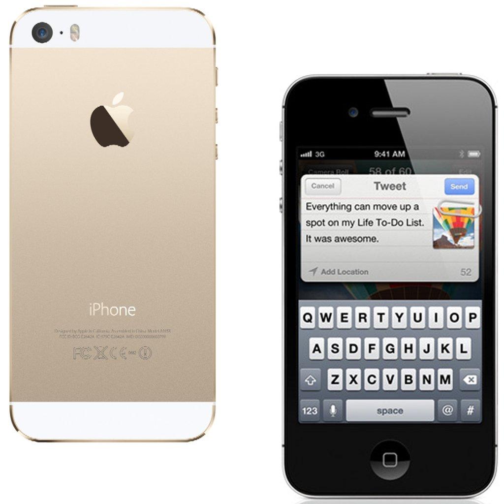 производительность iPhone 4S и iPhone 5S