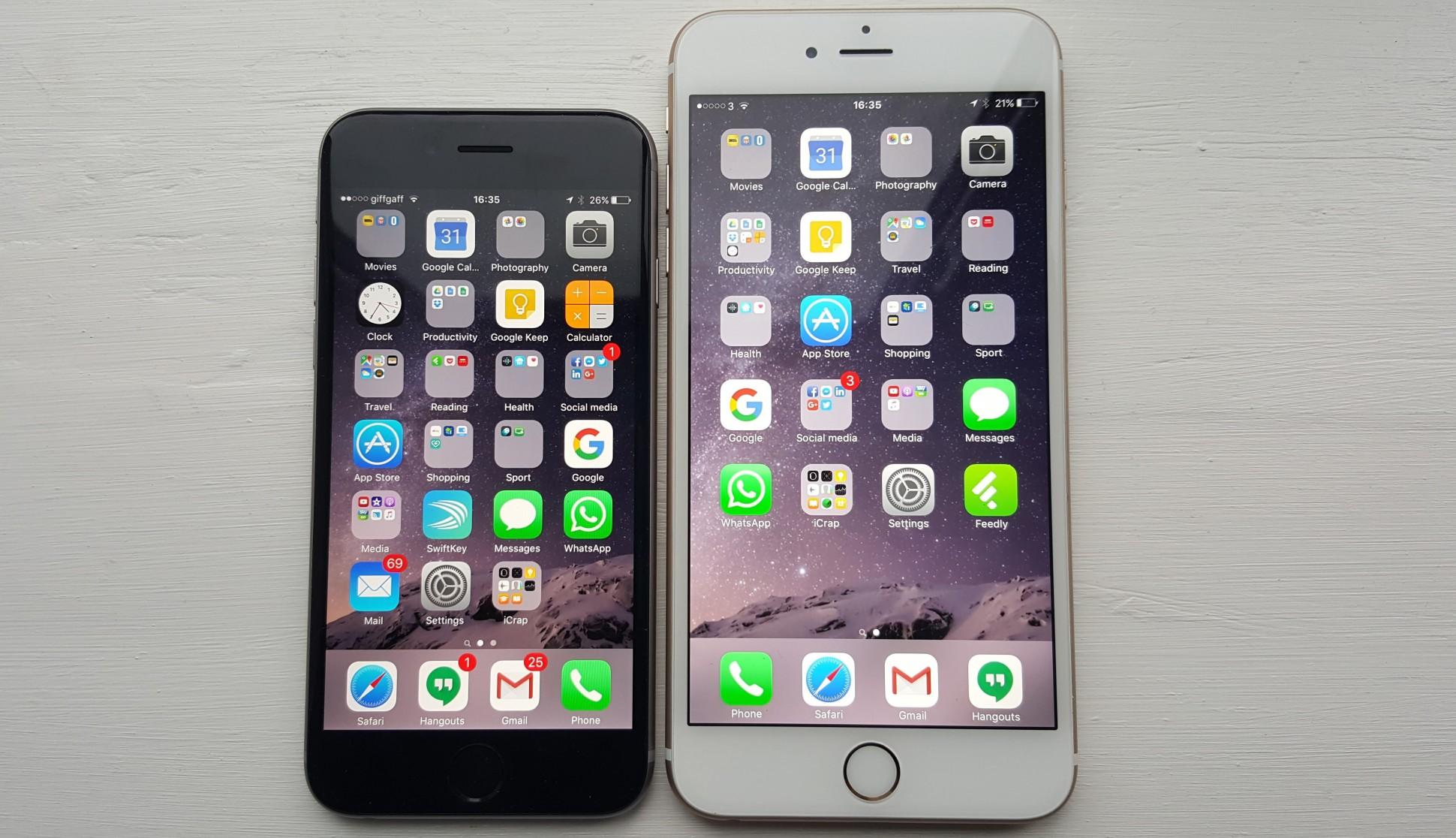 производительность iphone 6S