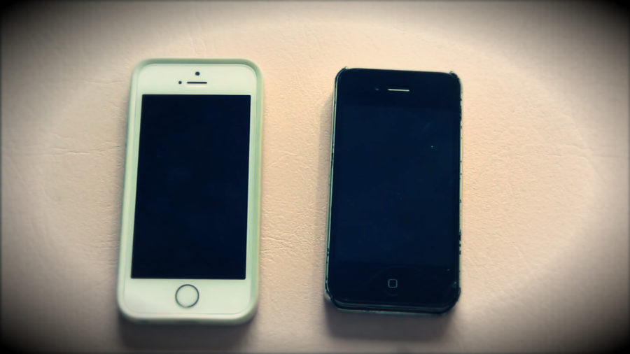 сравнение айфона 4S и айфона 5S