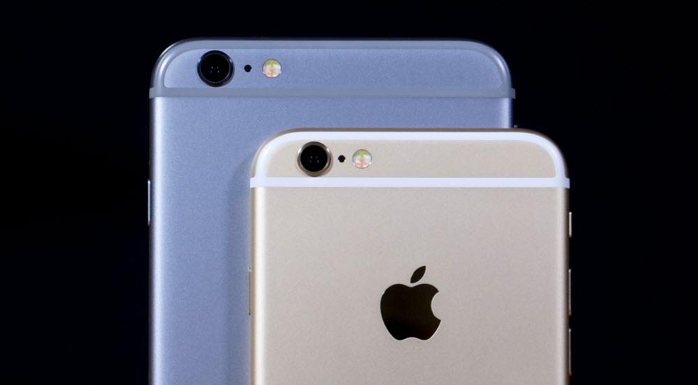 сравнение камеры и батарейки айфона 6s и 6S PLUS