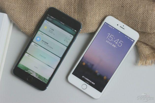 сравнение производтельности iPhone 6 PLUS и iPhone 7 PLUS