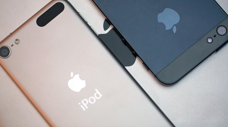 сравние айфон и айпад
