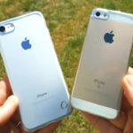 Сравнение iPhone SE и iPhone 7