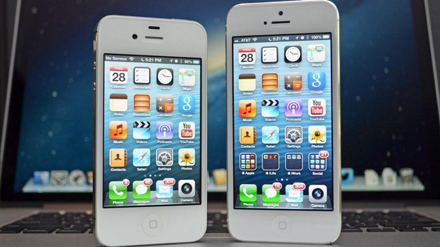 Сравнение характеристик айфон 4 и айфона 5