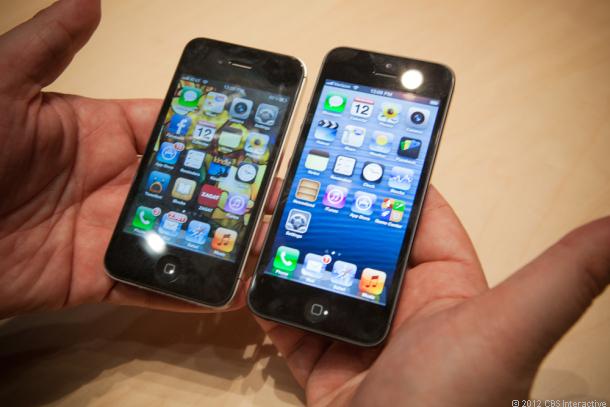 айфон 4 и 5 разница во внешнем виде