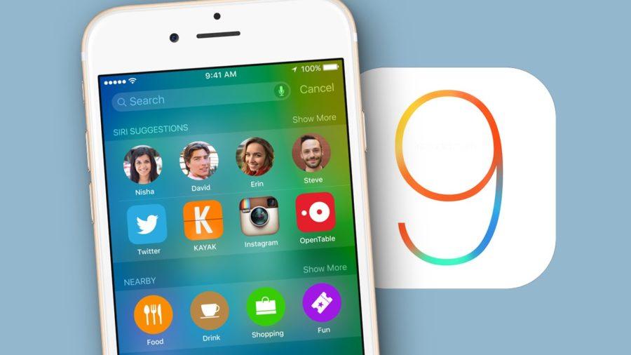 обновление айфон 4 до ios 9