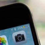 Почему на iPhone желтый индикатор батареи?