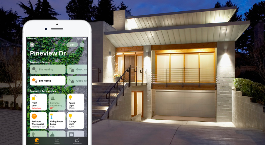 приложение дом на iOS