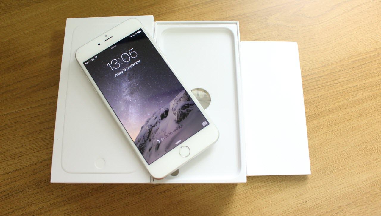 проверка внешнего вида iphone