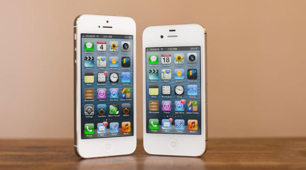 разница между 4 и 5 айфоном