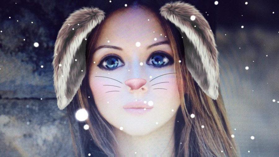 приложение с маской кролика и милым голосом
