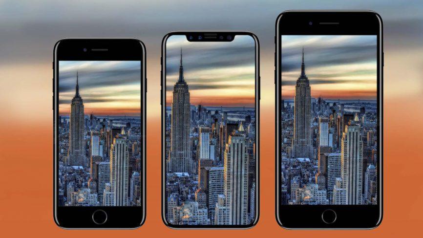 iPhone 8, iPhone 8 Plus, iPhone X