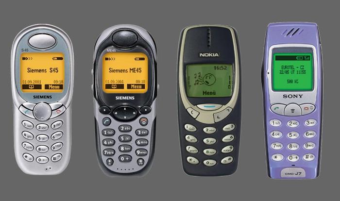 Черно-белые телефоны