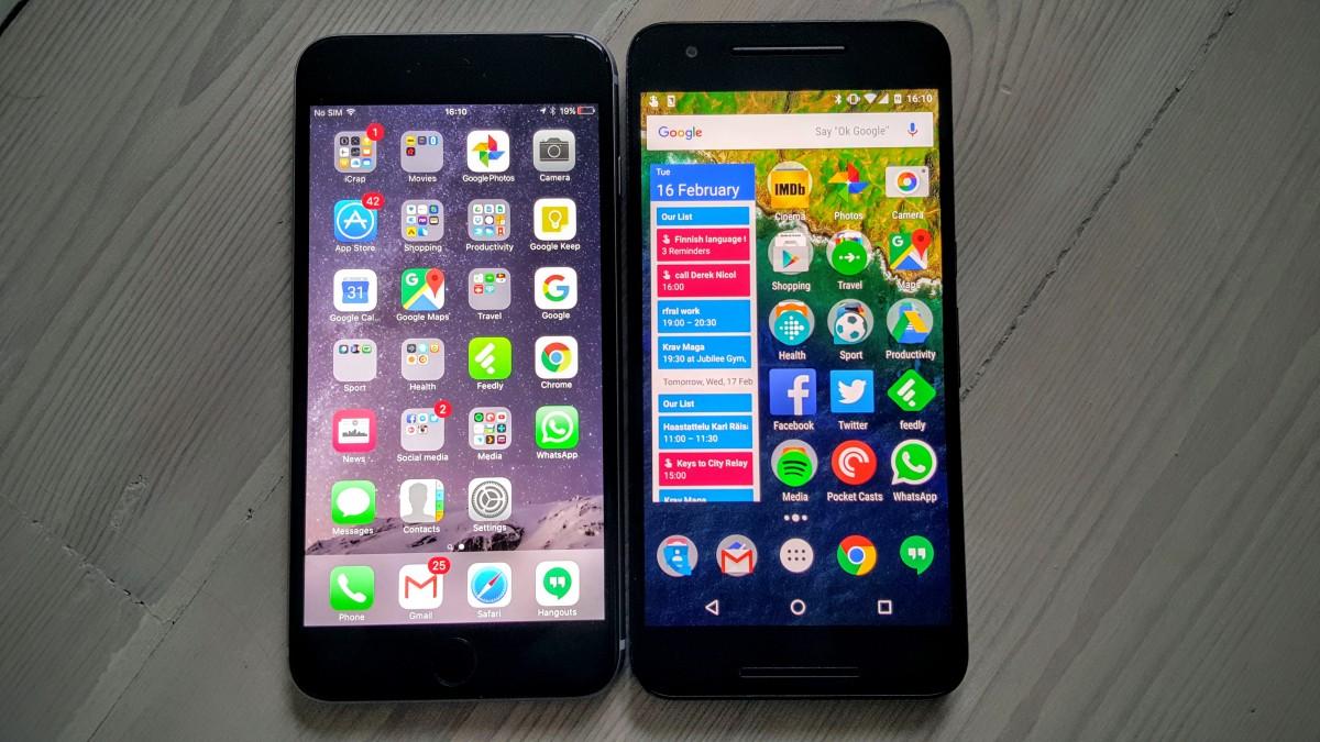 отличие смартфона от айфона для чайников