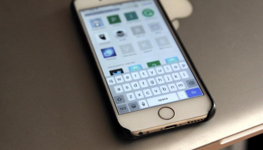 что такое прописная и строчная буква в iPhone