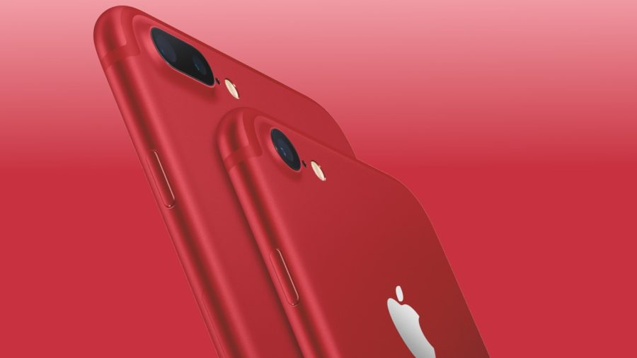 iPhone 7, iPhone 7 PLUS красного цвета и еще парочку обновлений