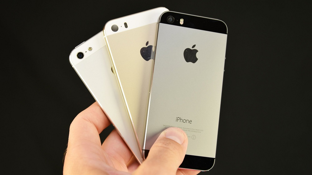 Все цвета iPhone 5S