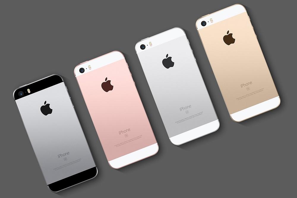 Все цвета iPhone SE