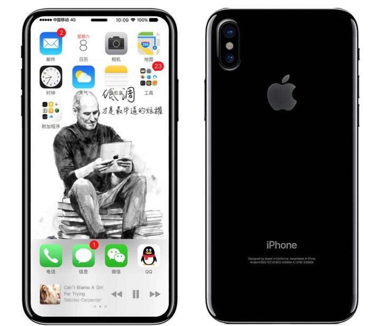 Как будет выглядеть Айфон 8