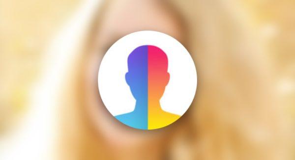 Приложение Face App на iOS