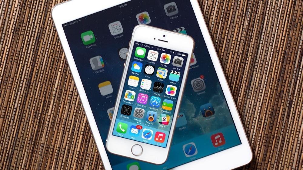 Сравнение экранов iPad и iPhone