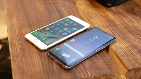 Сравнение iPhone 7 7 PLUS и Samsung Galaxy S8 S8+