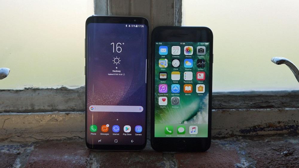 Чем отличается iPhone 7 7 PLUS от Samsung Galaxy S8 S8+