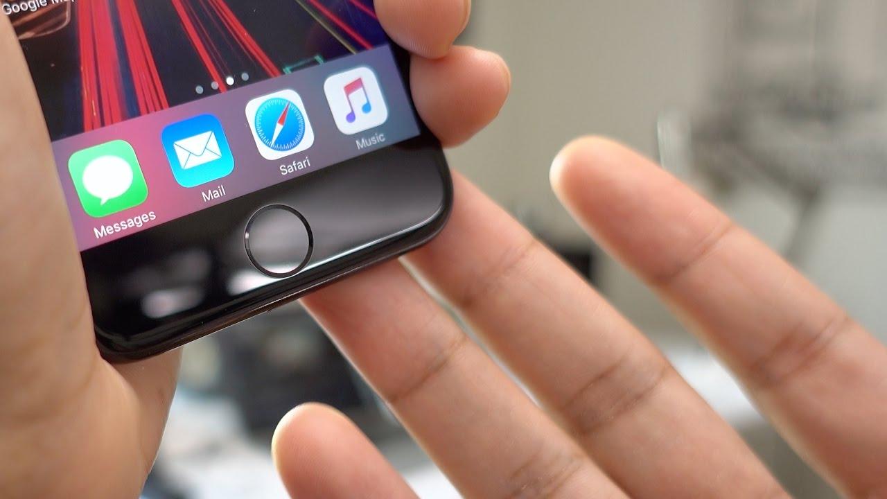 iPhone 7 Finger Scanner