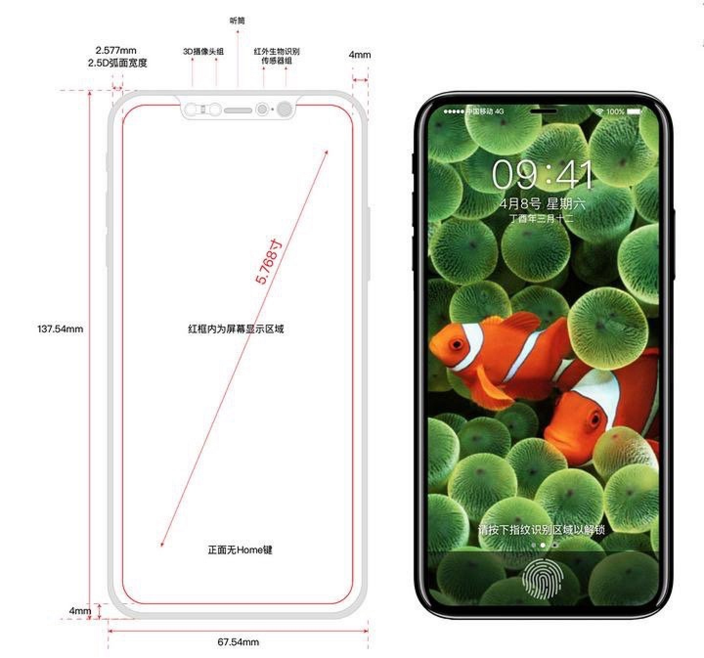 Экран iPhone 8