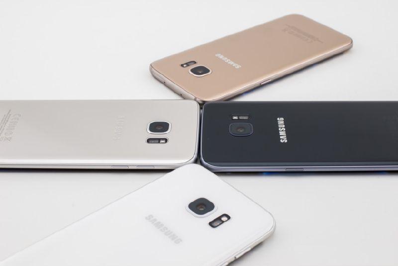 Цвета корпуса Samsung Galaxy S7