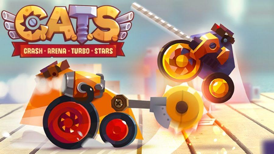 CATS Crash Arena Turbo Stars на iOS