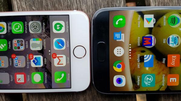 iPhone 7 против Samsung Galaxy S7