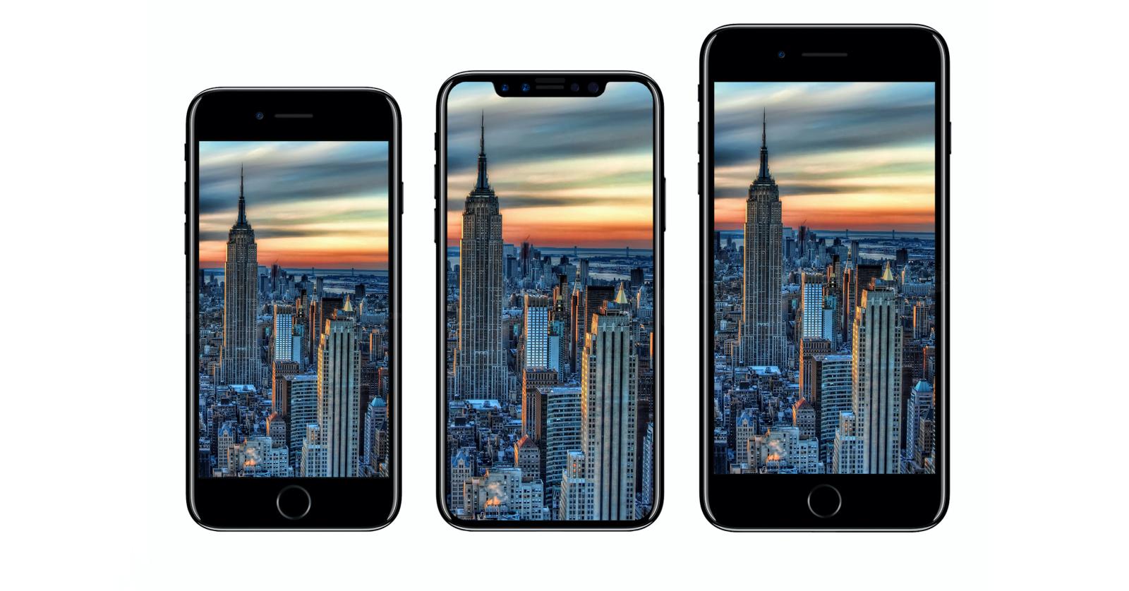 Внешний вид Айфон 8