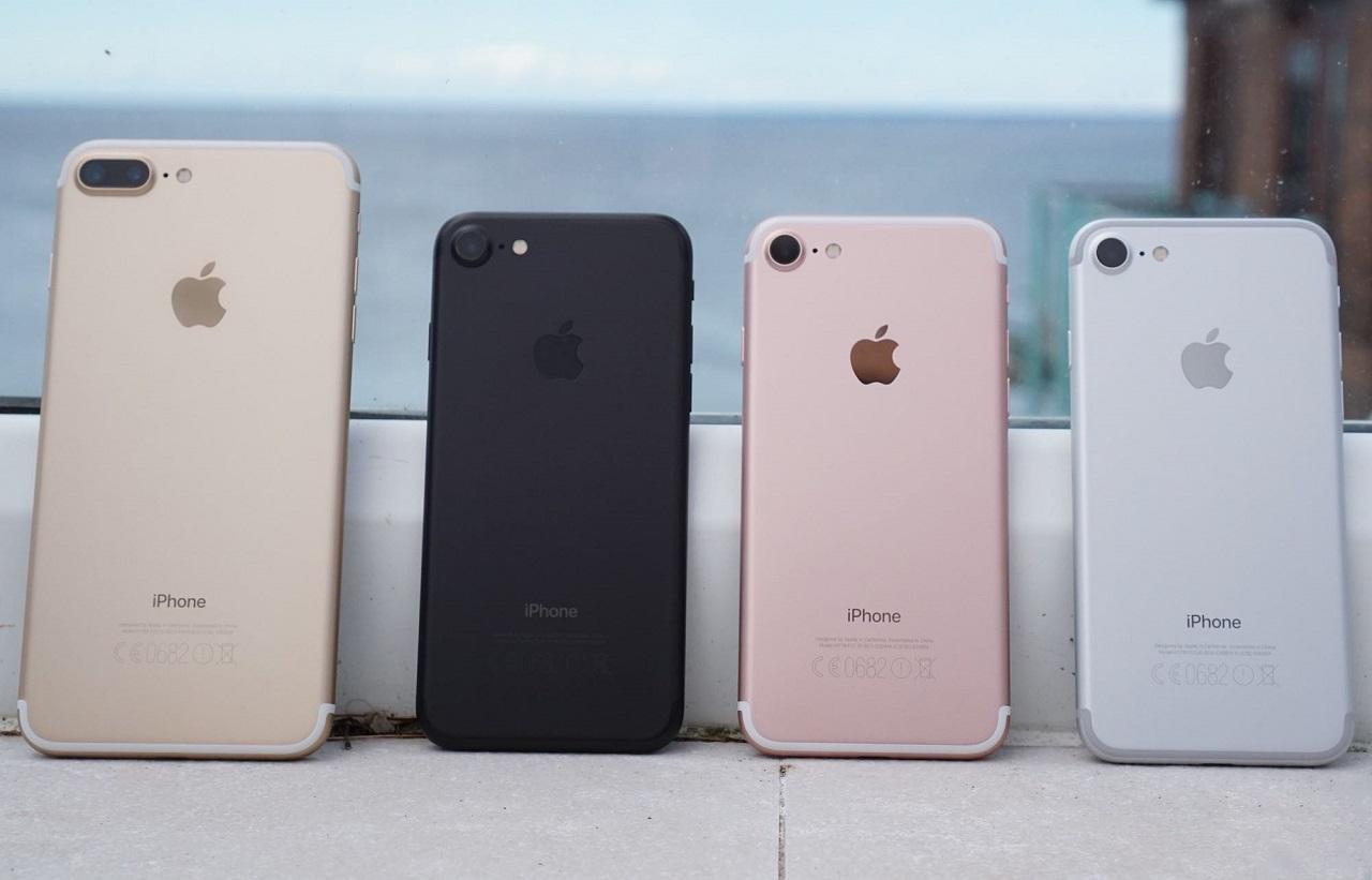 Внешний вид iPhone 7 и iPhone 7 PLUS
