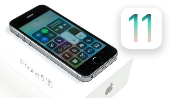 Получит ли iPhone 5S iOS 11