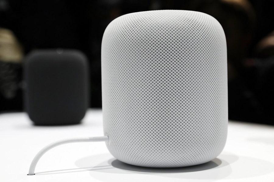 Цвета колонки Apple HomePod