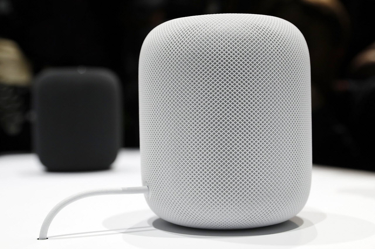 Цвета колонки Apple HomePod